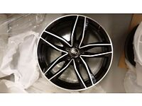 """18"""" AUDI RS6C STYLE ALLOYS WHEELS RS4 RS6 RS5 RS3 A3 A4 A1 A5 A6 A7 A8 S3 S4 S5 S6 S LINE S1"""