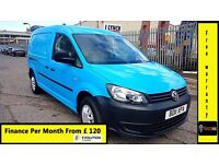 Finance-£120 P/M, VW-Volkswagen Caddy Maxi C20 1.9 TDI Lwb Van - Air Con- 1 Owner ,76K ,FSH- 1YR MOT