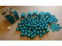 Duck Egg Blue Christmas Decs