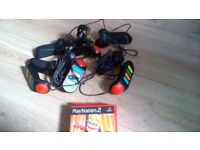 Ps2 games and controllers