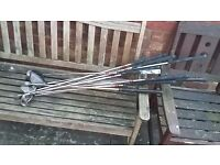 Selection of used Golf clubs