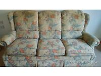 Three Seater Sofa in good condition - 3 years old