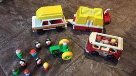 Retro FisherPrice toys