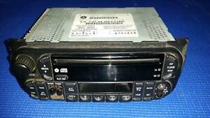Jeep Grand Cherokee WJ -WG Genuine Factory CD Radio Airport West Moonee Valley Preview