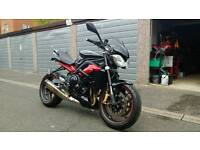 Triumph street triple R with loads of extras. FSH, low miles.