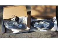 VW Golf mk6 headlights with Zenon Bulbs