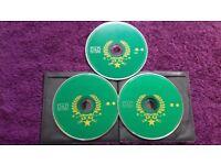 3 cds variety of music