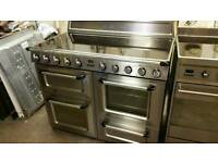 Fully reconditioned 110cm induction electric range cooker