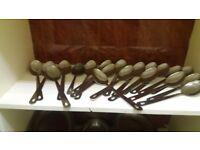 Stainless steel large serving spoons 30cm