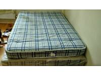 Double spring mattress with Base