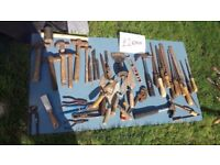 **HAND TOOLS**£2**HAMMERS / BOLSTERS / LEVELS / SPANNERS / PLIERS / ETC / SCREWDRIVERS**