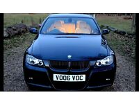 **Rare Manual BMW 330D M Sport Saloon / Saphire Black With Ivory Leathers** 318 325 335 530 525 520