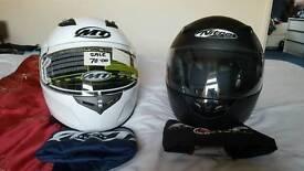 MT helmet size small(white)