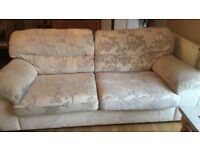 Cream marks and Spencer sofa