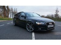 LATE 2012 Audi A4 B8 B8.5 Facelift manual 2.0TDI 134bhp Diesel Estate Black CLEAN CONDITION