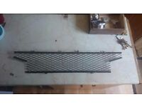 MG Midget grille for rubber bumper 1500