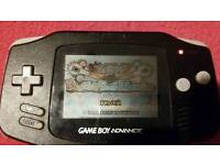 Gameboy advance with 1 game