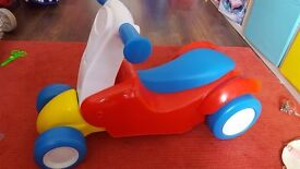 Fisherprice ride on / scooter