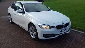 SHOWROOM CONDITION 2012 BMW 320I SPORT TWIN TURBO,62000 MILES,3 months warranty