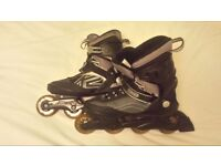 K2 EXO Unisex Roller Skates Size 10 UK in very good condition, only been worn once - For quick sale.