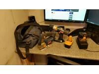Ryobi 18v cordless drill & jigsaw