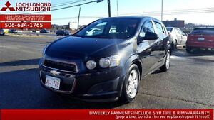 2013 Chevrolet Sonic LT- wicked features ONLY $93/biweekly!