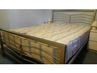 Double bed + mattress