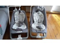 Twin joie baby bouncer chairs