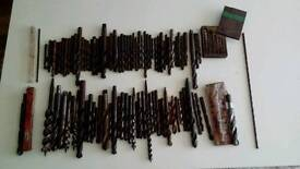 Large job lot of drill bits all makes and sizes