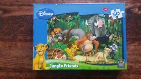 Disney Junglebook Friends 50 piece puzzle
