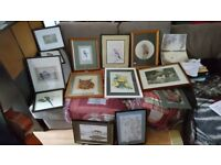 14 Framed & Unframed Original Watercolours & Limited Edition Prints