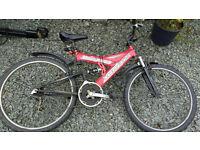 "Mountain Bike and Universal Bike - 2 Men's 26"" Bicycles"