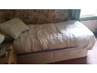 Free Single Bed (Divan and Mattress) - Collection Only