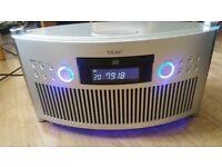 Teac SR-L50 MINI STEREO SYSTEM AM/FM/CD AUDIO CLOCK RADIO
