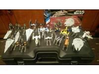 Star Wars Hotwheels vehicle collection