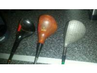 Golf clubs(almost full set)