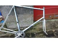 raleigh racer frame renoylds 501