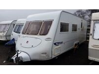 CARAVAN FLEETWOOD HERITAGE 640/EB 4 BERTH-2004-TWIN AXLE-CENTRAL HEATING