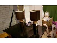 Bedside lamps pair bedroom table lamp