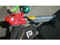 Leaf vacuum blower