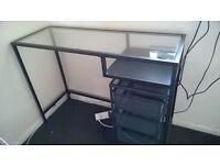 Ikea VITTSJO laptop desk/table