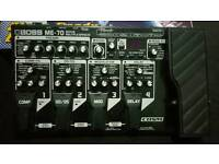 BOSS ME-70 multi effects peddle - never been gigged