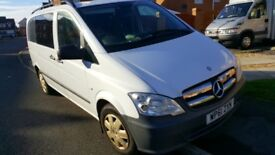 Mercedes Vito Dualiner 113cdi 2012 4 seats 2.2 Diesel ideal camper Conversion px 4x4