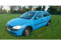 51 Plate Vauxhall Corsa 1.2 16v Petrol Manuel 5 Door ( Swaps )