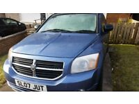 AUTOMATIC DODGE CALIBER 2.0 petrol 2007 FAMILY CAR