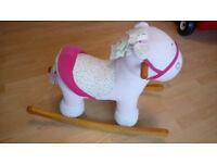 Pink Pollyanna Mamas and papas rocking horse