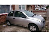 Nissan Micra 1.2 manual 5 gears 3 doors nice and clean with good engine condition