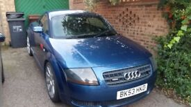 Audi TT 1.8t - Cambelt changed long MOT