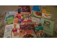 Selection diet beauty keep fit books