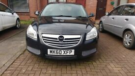 2010-60 plate Vauxhall Insignia 2.0 CDTI manual for sale